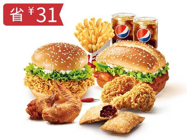 P堡堡双人餐