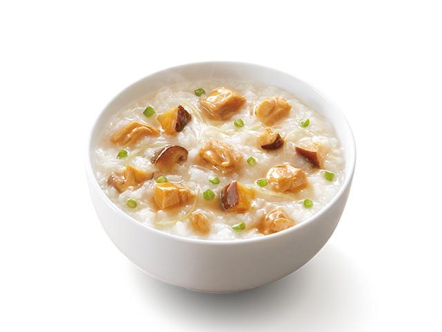 冬菇滑鸡粥